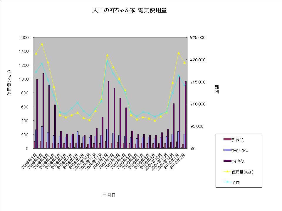大工の祥ちゃん家 電気使用量20100219.jpg